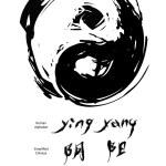 Yin yang — Stock Vector #8584288
