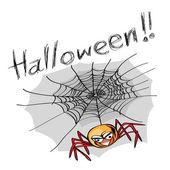 Halloween spider — Vecteur