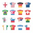 Countries flags icons - set 2 of 2 — Stock Vector