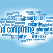 Cloud computing — Image vectorielle