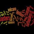 Disasters background — Image vectorielle