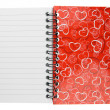 Stock Photo: Love diary