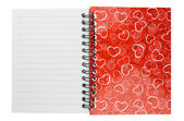 Love diary — Stock Photo
