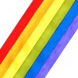 Rainbow flag — Stock Photo #9098331