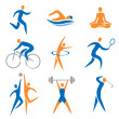 Stock Vector: Sport icons
