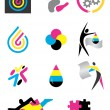 Stock Vector: Icons_print_design