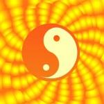 Yin & Yang symbol — Stock Vector