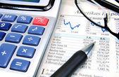 Stockmarket Analysis — Stock Photo