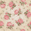 Vintage seamless floral pattern — Stock Vector