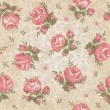 Vintage seamless floral pattern — Stockvectorbeeld