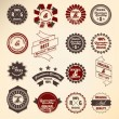 Retro label collection — Stock Vector #9626055