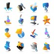 Icons for technology - Stock Vector