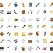 Icons for personal belongings — Stockvektor