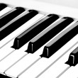 Royalty-Free Stock Photo: Piano Keyboard