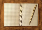 Blank Notebook — Stock Photo