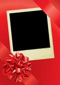 Holiday Photo — Stock Vector