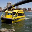 NYC Water Taxi - Stock Photo