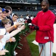 Ryan Howard signing fans baseball - Stock Photo