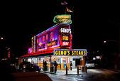 Geno's Steaks — Stock Photo