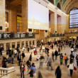 Grand Central train station ticket hall - Stock Photo