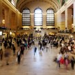 Stock Photo: Grand Central train station ticket hall