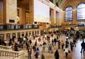 Grand Central train station ticket hall — Stock Photo