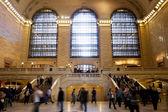 在纽约大中央火车站 — 图库照片