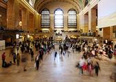 Corridoio di biglietto stazione ferroviaria centrale grande — Foto Stock