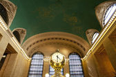 Clock in Grand Central Train Station — Stock Photo