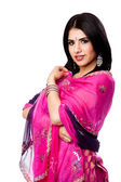 Beautiful Indian Hindu woman — Stock Photo