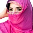 Indian Hindu woman with headscarf — Stock Photo #9391522
