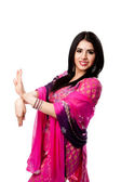 Happy smiling Indian Hindu woman — Stock Photo