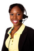 Happy Service Operator — Stock Photo