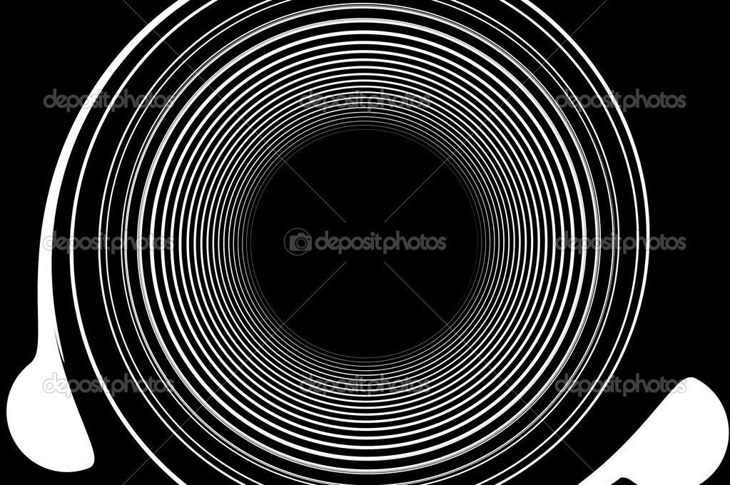 Black and white abstract background of speaker — Stock Photo #10085569