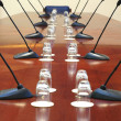 Stock Photo: Empty conference room