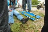 Road accident — Stock Photo