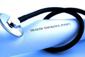 Ubezpieczenie zdrowotne — Zdjęcie stockowe