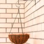 Постер, плакат: Flower basket hanging cache pot