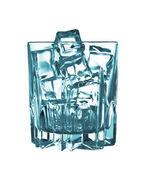 Glass ice cubes — Stock Photo