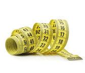Měřicí páska — Stock fotografie