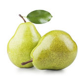 Two ripe pears — Stock Photo