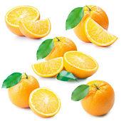 Färsk apelsin — Stockfoto