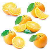 鲜橙色 — 图库照片
