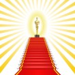 Stock Vector: Oscar Award.
