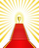 Gold Cup winner. — Stock Vector