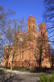 Sankt thomas church — Stock Photo