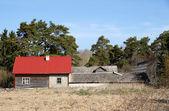 Dom w okolicy — Zdjęcie stockowe