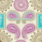Retro paisley seamless pattern — Stock Vector #10078532