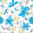 Floral seamless pattern — Stock Vector #9371753