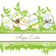 Stock Vector: Vector Easter frame